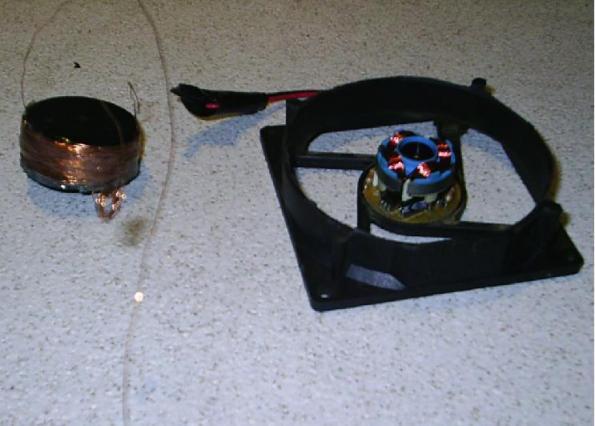 Rotor del ventilador